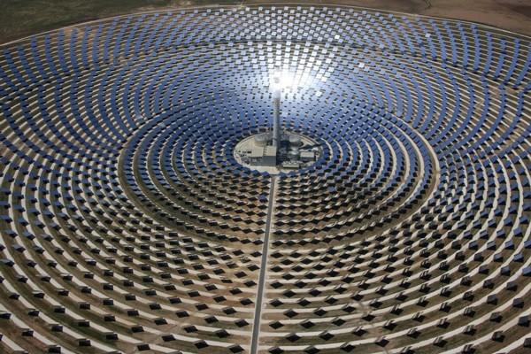 башенная солнечная электростанция