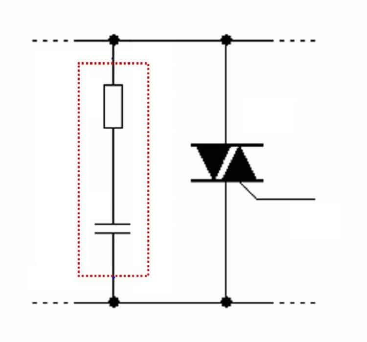 RC-цепочка для защиты симистора от помех