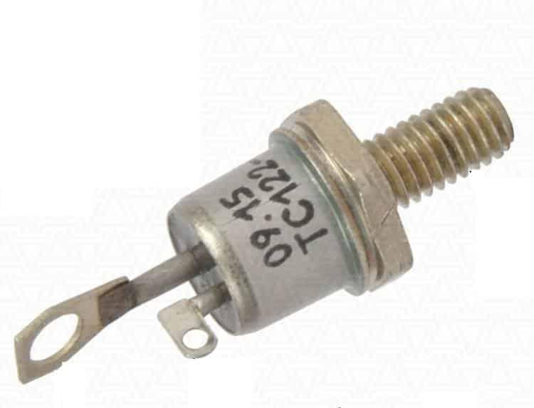 Симистор с креплением под радиатор