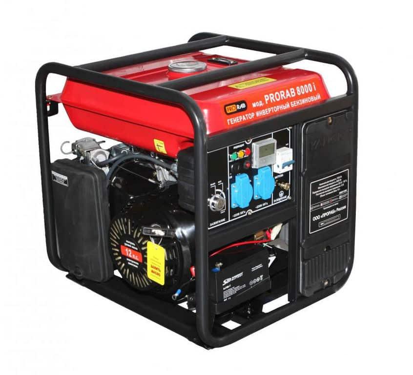 Бензиновый инверторный генератор открытого типа