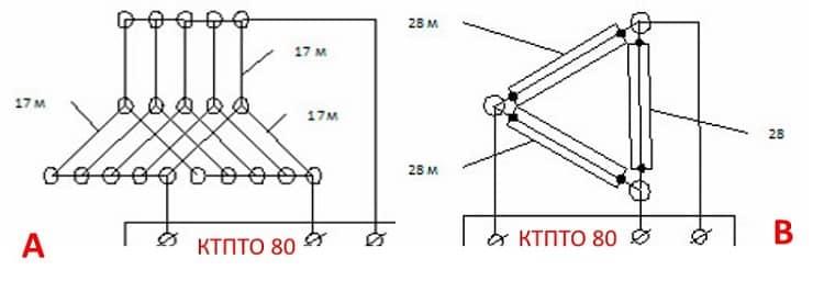 Электрическая схема подключения ПНСВ