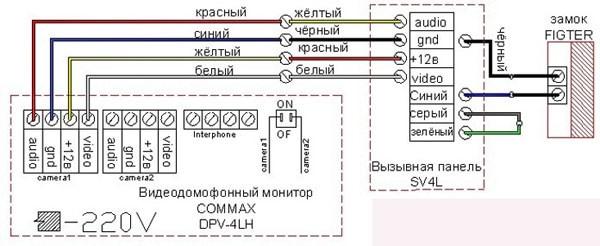 маркировка проводов при подключении