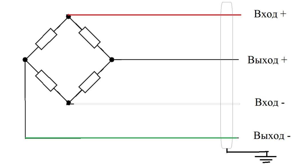 Четырехпроводная схема подключения
