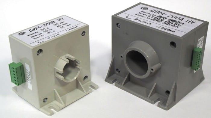 Датчики тока, использующие эффект Холла, могут измерять как переменный, так и постоянный ток