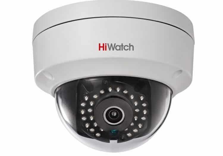 Купольная камера Hiwatch в антивандальном корпусе