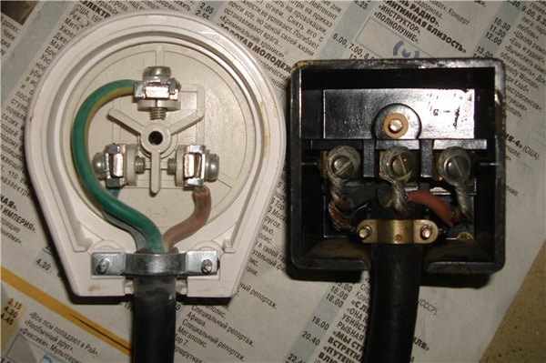 Электрика в доме установка розетки для эл плиты