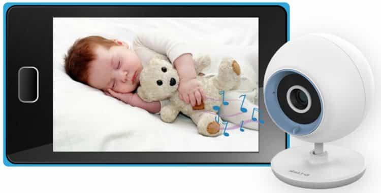 Система видеоняня для наблюдения за детьми