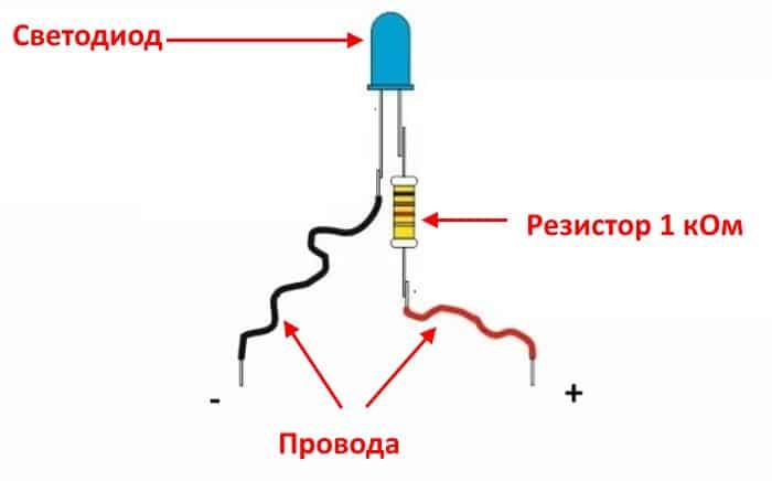 Светоиндикаторный тестер для проверки ДХ
