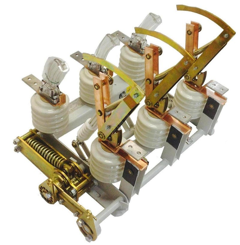 Выключатель нагрузки ВНА с пружинным механизмом