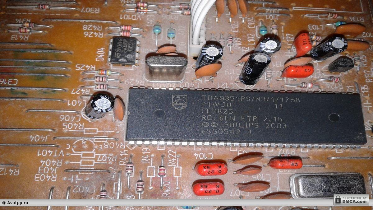 днокристальный процессор TDA9351PS/N3/1/1758