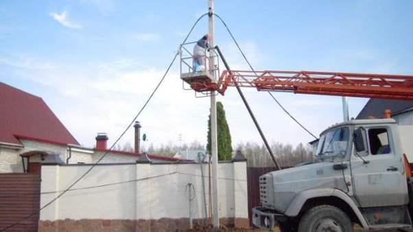 Как провести электричество на дачный участок