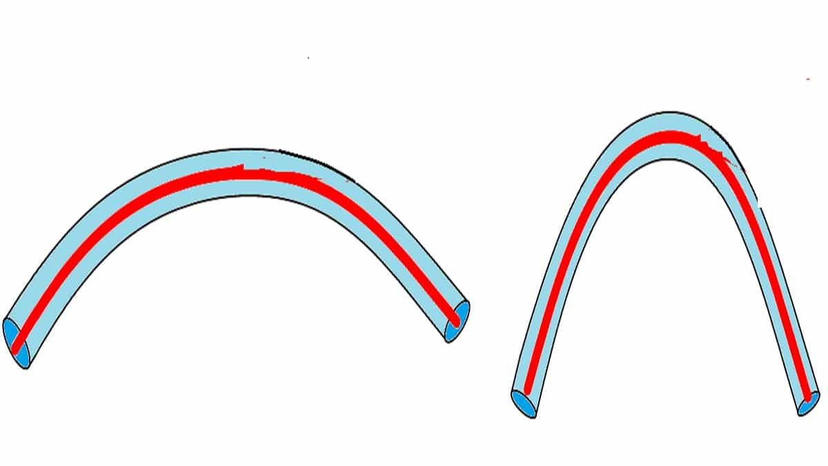 Радиус изгиба кабеля