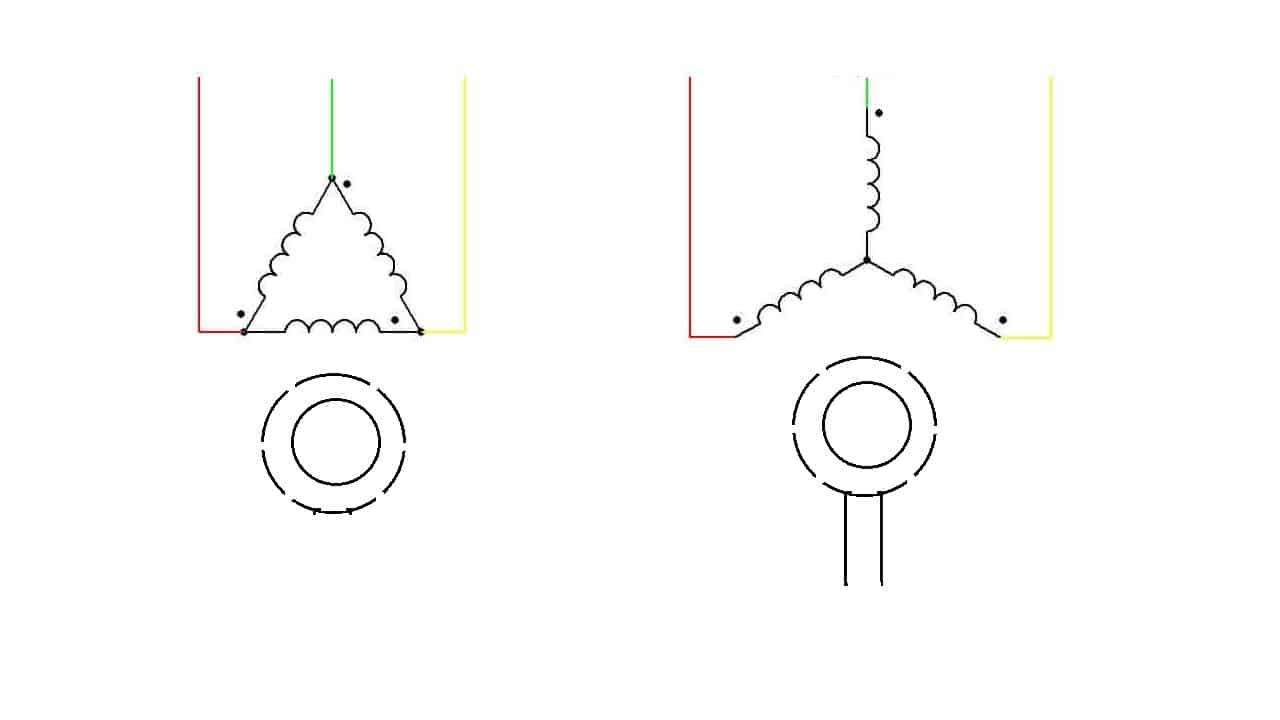 Схематическое обозначение синхронного электродвигателя