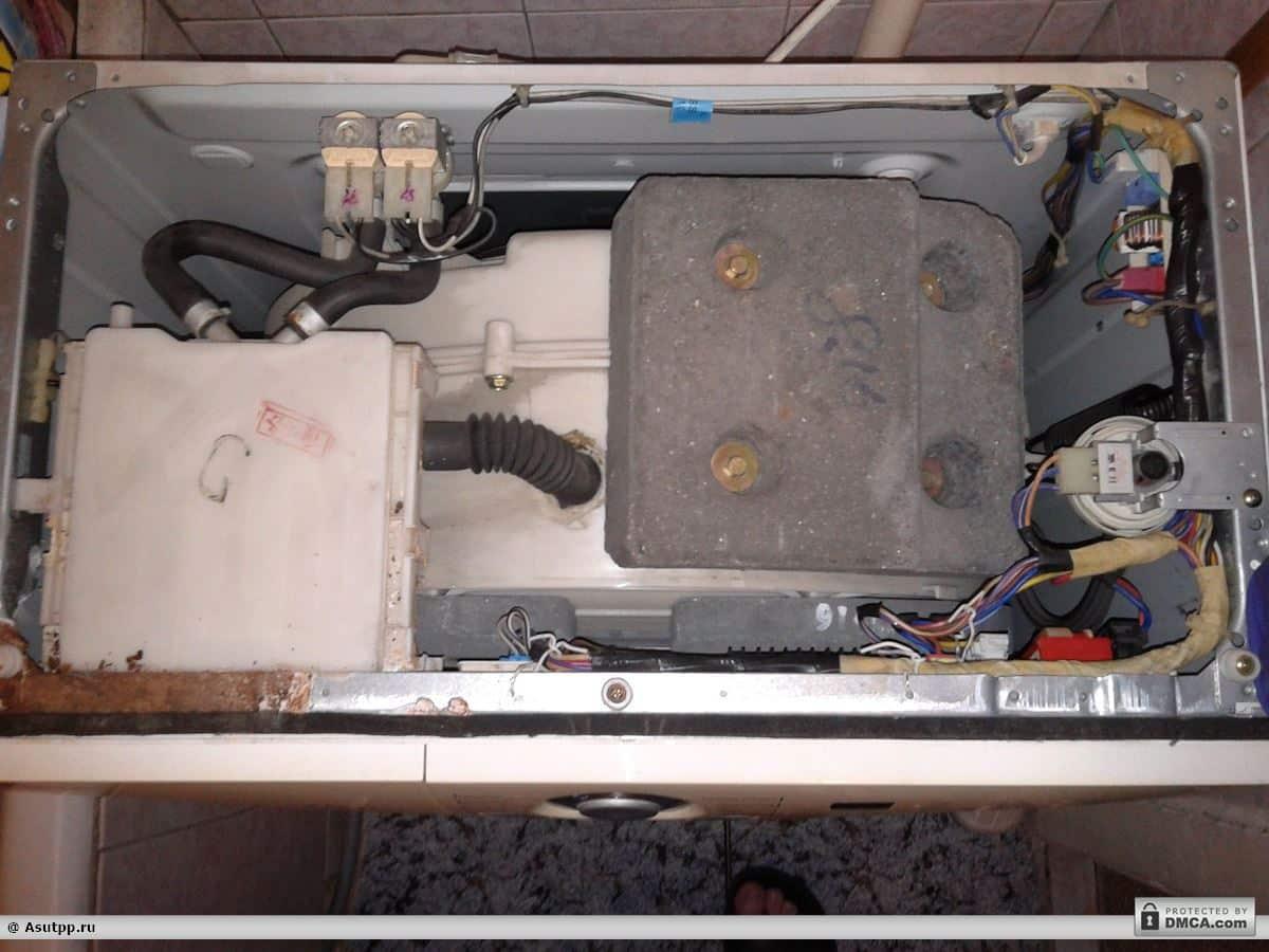 внутренняя начинка стиральной машины