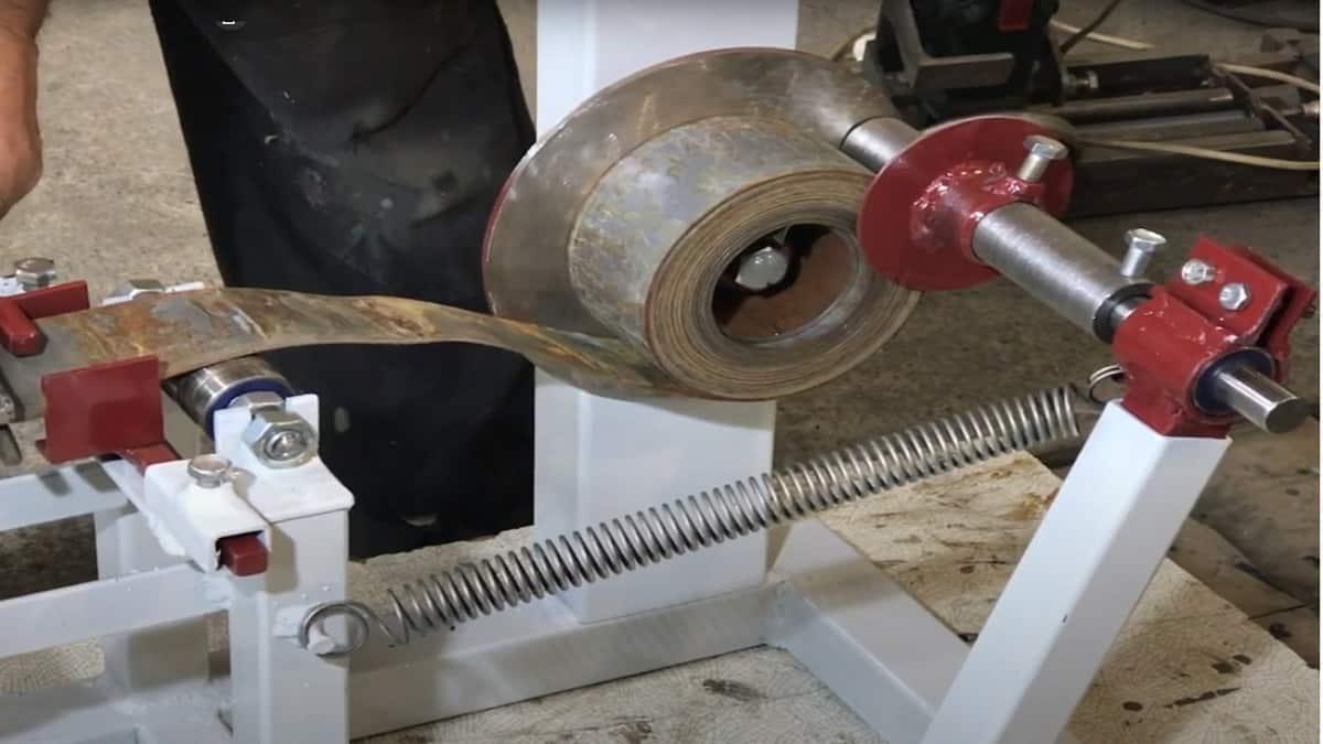 Намотайте сердечник из ленточной стали