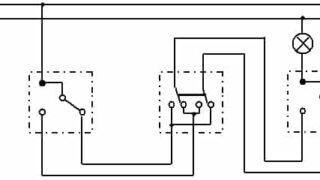 схема работы перекрестного выключателя