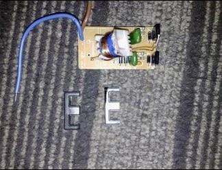 Фото частично разобранного трансформатора
