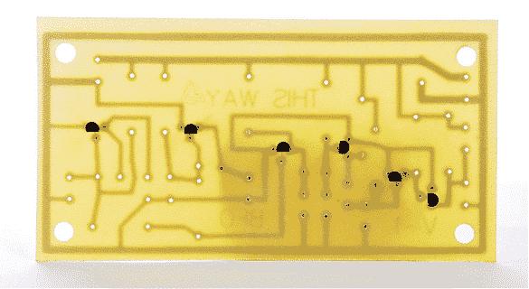 Шаг 2.1. Паяем на плату 6 NPN транзисторов
