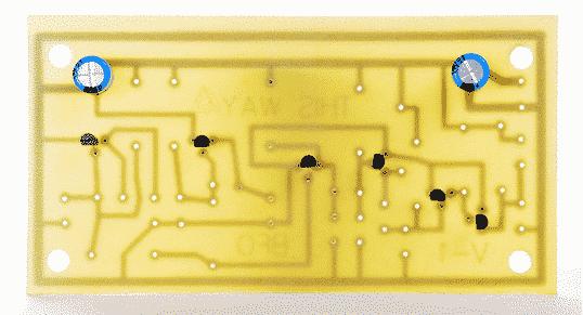 Шаг 2.2 Добавляем 2 электролитических конденсатора