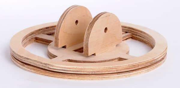 Шаг 6.2 Наматываем наматываем 10 витков вокруг паза проводом 0,4 мм в диаметре