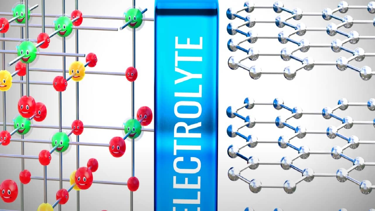 Изначально система литий-ионного аккумулятора в стабильном состоянии