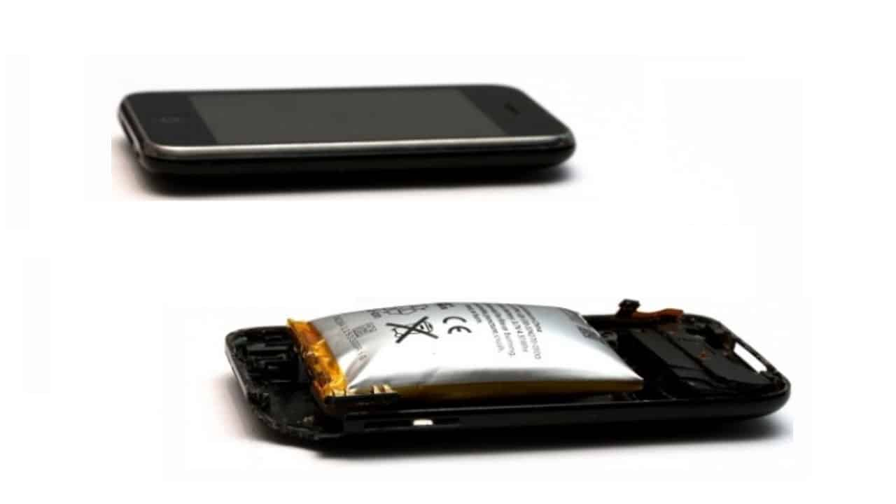 Вздутие литий-ионной батареи