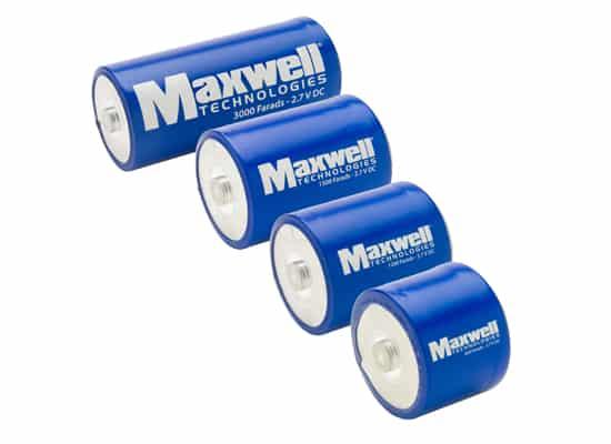 Ионисторы Maxwell