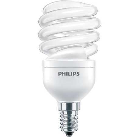Энергосберегающая лампа Филипс (Philips), тип цоколя E14