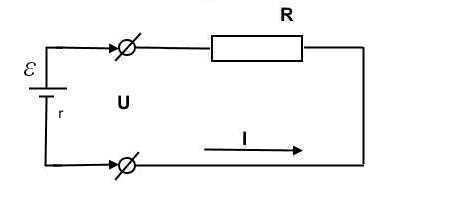 Схема с подключенным с источником