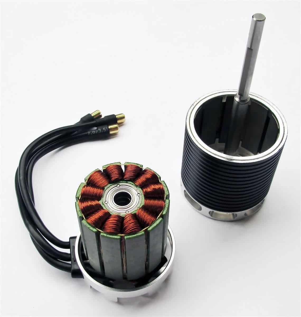 Вентильный двигатель с внешним ротором