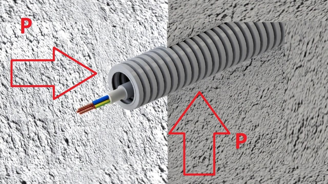 Воздействие механических услилий при заливке бетона