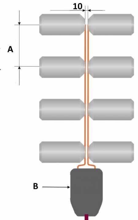 Синфазная решетка на основе жестяных банок