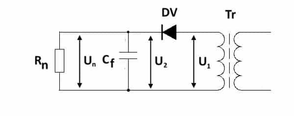 Двухполупериодный выпрямитель – однофазные, трехфазные, мостовые
