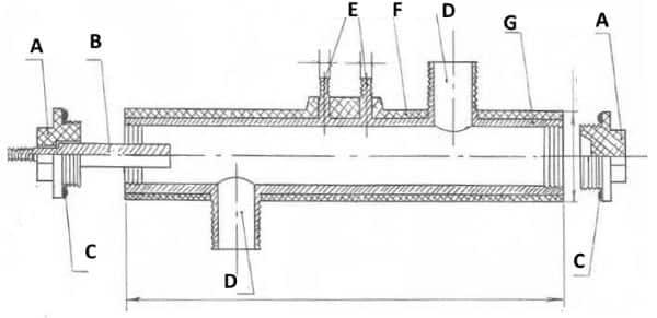 Экономичный водяной электрокотел электродного типа, чертеж для изготовления своими руками