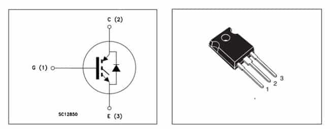 IGBT транзистор SC12850
