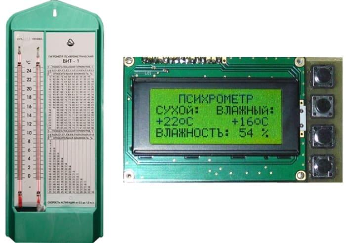 Измеритель влажности ВИТ-1 и его цифровой аналог