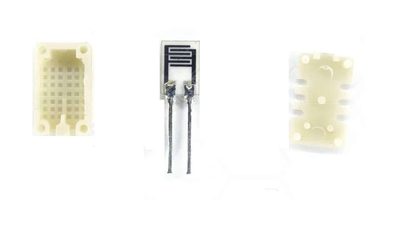 Устройство резистивного датчика влажности