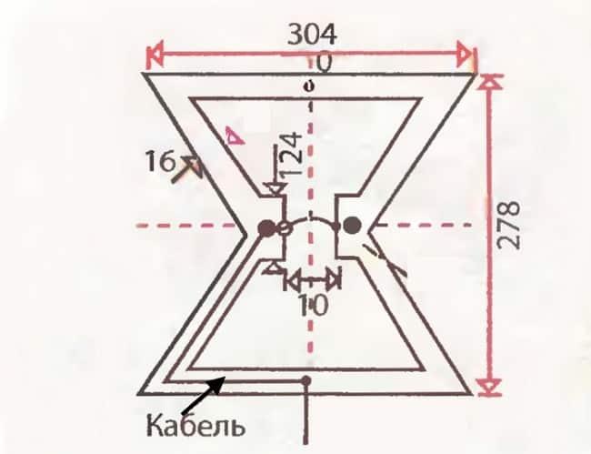 Дециметровая антенна «Бабочка»