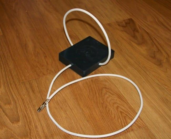 Простая рамочная ДМВ антенна петлевого типа для приема цифрового ТВ