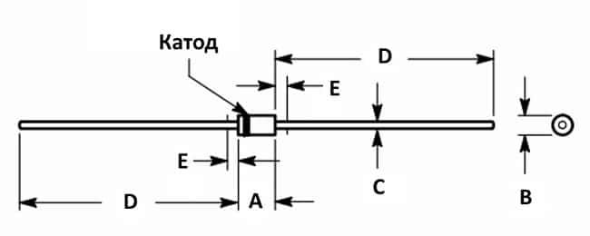Конструкция полупроводникового элемента