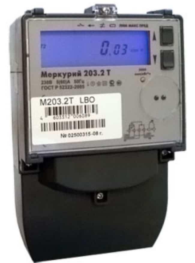 Eine elektrische Abschirmung unter dem Zähler und automatischen