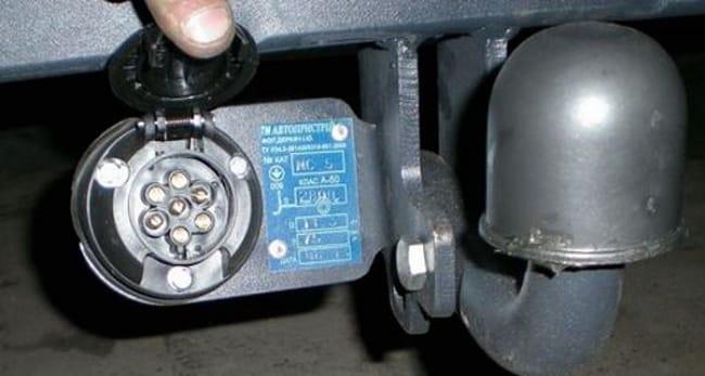 Схема подключения проводов прицепа легкового автомобиля