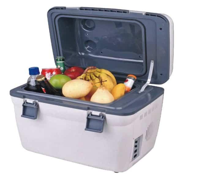 Сумка-холодильник на элементах Пельтье, нет компрессора, не нуждается во фреоне или других хладагентах