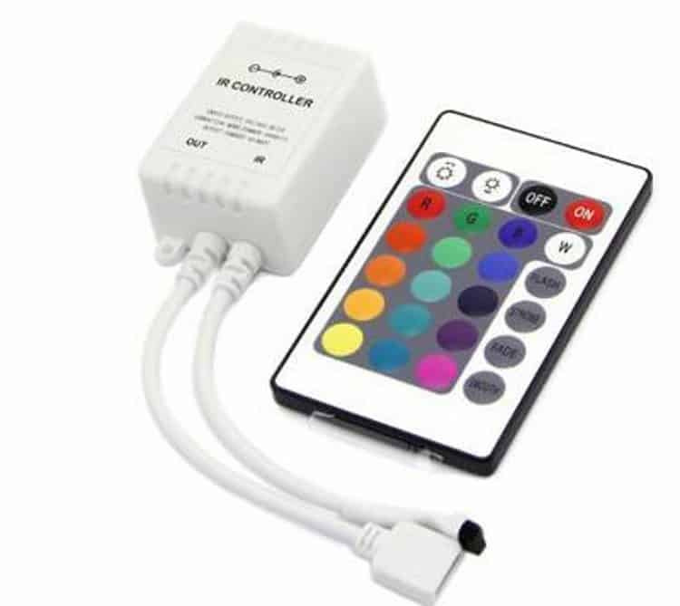 RGB контролер с пультом управления