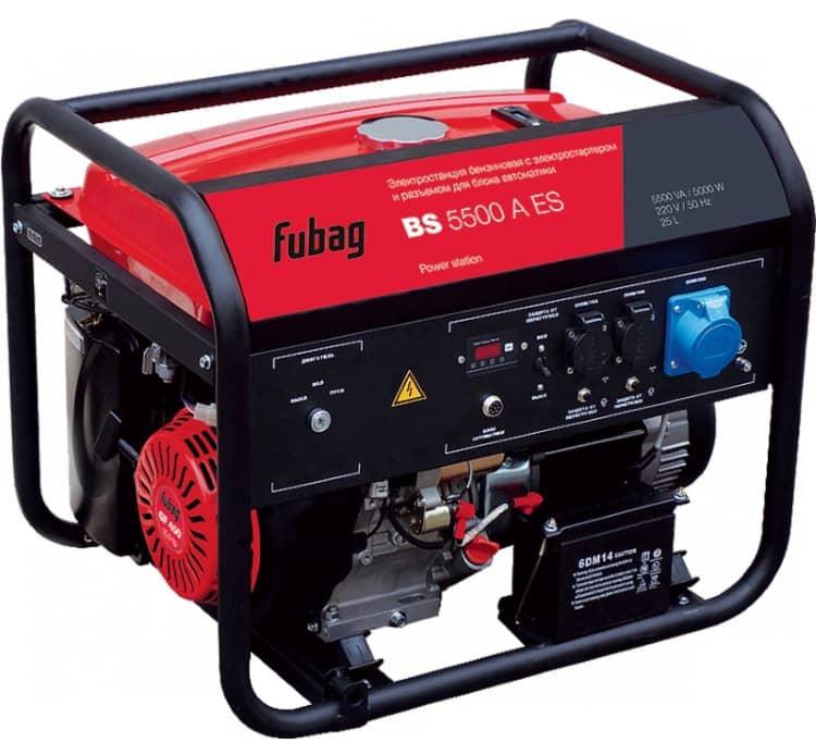 Генератор Fubag BS 5500 со встроенным стабилизатором напряжения
