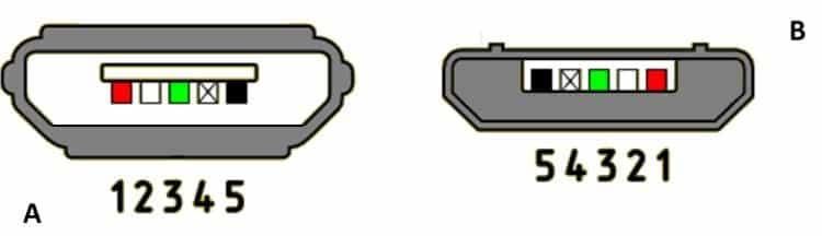 Распайка разъема микро USB v 2.0