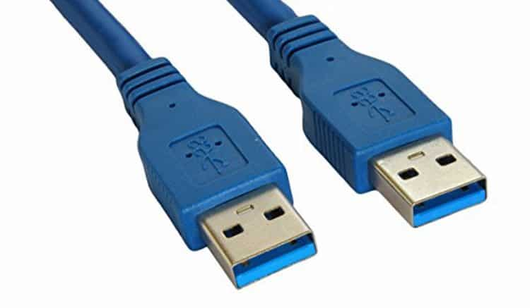 Разъемы USB 3.0 имеют характерный синий цвет