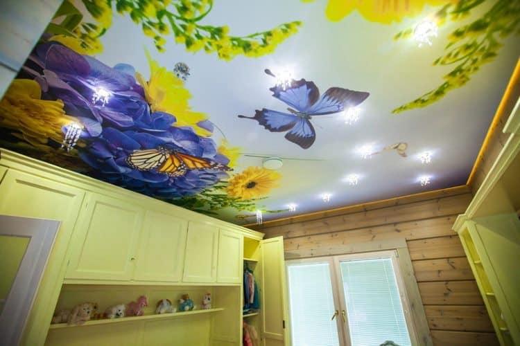 Правильная схема наполнит красками натяжные потолки с фотопечатью