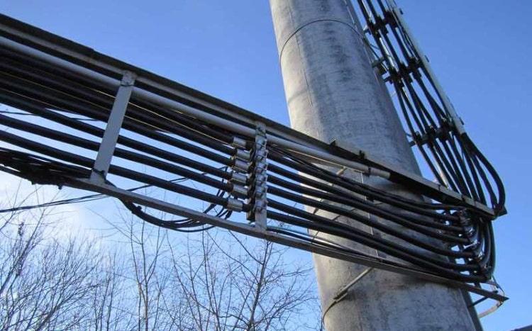 Фрагмент фидерного моста