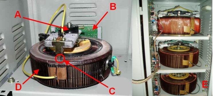 Особенности конструкции релейного стабилизатора